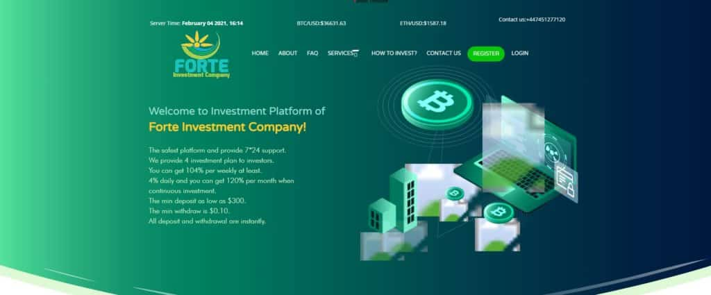 Forte Investment Company scam